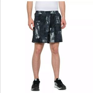 New Under Armour Launch Swift Print Shorts L XL